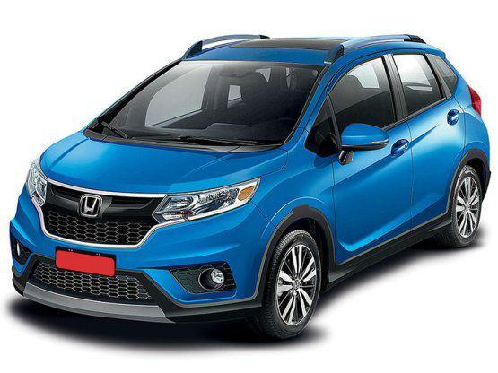 Honda WRV The Jazz-based crossover