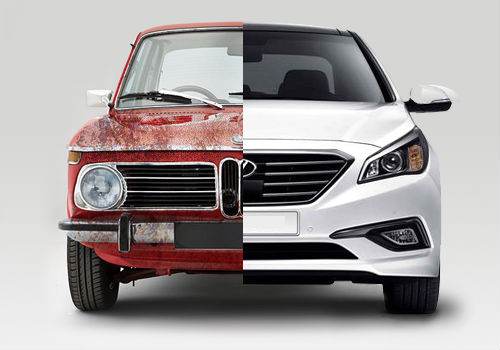 New vs Old Cars